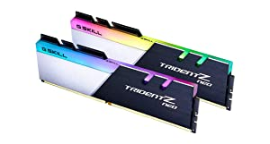 G.SKILL Trident Z Neo (for AMD Ryzen) Series 64GB (4x16GB) 288-Pin RGB DDR4 3600 (PC4 28800) DIMM F4-3600C16Q-64GTZNC (Tamaño: 64 Gb)