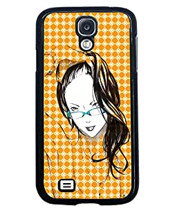 Fuson 2D Printed Girly Designer back case cover for Samsung Galaxy S4 I9500 / I9505 - D4575