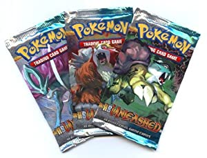 3 cards pokemon packs