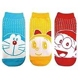 ドラえもん 3Pセット靴下 (ドラえもん/ドラミちゃん/のび太) SHDR344J