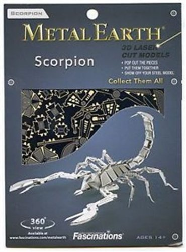 Fascinations Metal Earth 3D Laser Cut Model - Scorpion