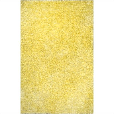 Jubilee Yellow Shag Rug Size: 3' x 5'