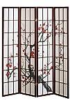 4 panel Cherry Blossom Design Room Di…