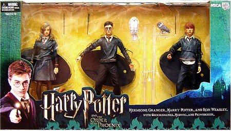 Harry Potter and the Order of the Phoenix NECA 7 Inch Action Figure Boxed Set 3-Pack [Harry Potter, Ron Weasley & Hermione Granger] - Buy Harry Potter and the Order of the Phoenix NECA 7 Inch Action Figure Boxed Set 3-Pack [Harry Potter, Ron Weasley & Hermione Granger] - Purchase Harry Potter and the Order of the Phoenix NECA 7 Inch Action Figure Boxed Set 3-Pack [Harry Potter, Ron Weasley & Hermione Granger] (NECA, Toys & Games,Categories)
