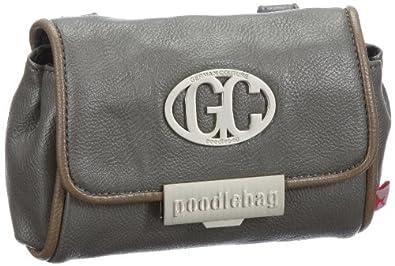 Poodlebags GERMAN COUTURE - move&feel - belt bag 3GC0812BEBAG, Damen Clutches, Grau (grey), 18x13x10 cm (B x H x T)