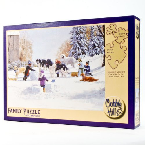 Cheap Cobble Hill Cobble Hill Doggone Winter Puzzle – Made in U.S.A (B004S7K6WS)