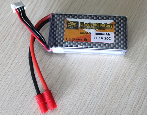 US Ship 11.1v 1000mAh 20C Lipo Battery for Walkera Master CP Rc Helicopter