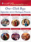 img - for One-Click Buy: September 2010 Harlequin Presents: Marriage: To Claim His Twins\Kat and the Dare-Devil Spaniard\The Andreou Marriage Arrangement\The Billionaire's ... Scandal\The Virgin's Proposition book / textbook / text book