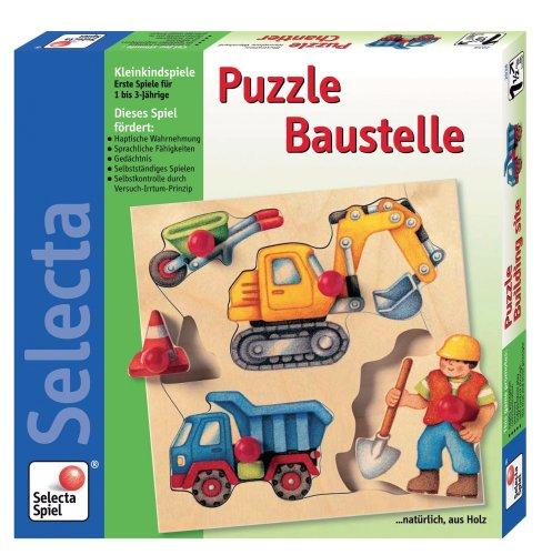 Cheap Selecta Construction Site Puzzle (B00003CW8T)