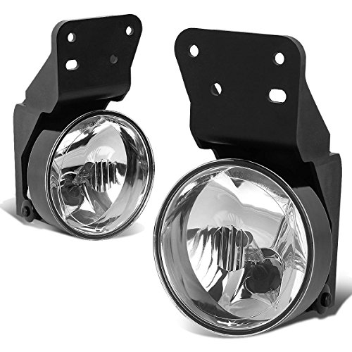 Pontiac Grand AM Pair of Bumper Driving Fog Lights (Clear Lens) (Grand Am Gt Fog Lights compare prices)