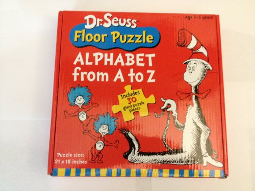 Dr. Seuss Floor Puzzle - Alphabet from A to Z - 1