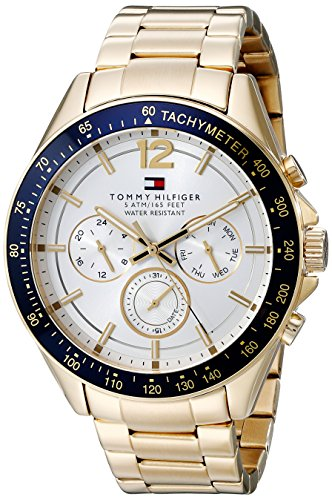 Tommy-Hilfiger-Mens-1791121-Sophisticated-Sport-Gold-Tone-Stainless-Steel-Watch