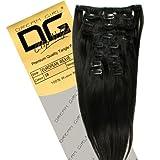 Dream Girl Extensions cheveux raides Couleur 1B 46cm