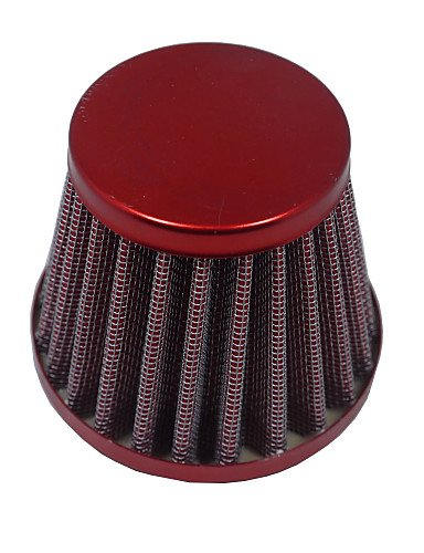 38mm Air Filter fit 50 70 90 110 125CC Yamaha ATV Dirt Pit Bike CRF50 , red