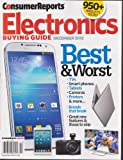 CONSUMER REPORTS - ELECTRONICS BUYING GUIDE - December 2013.