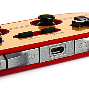 【FC30 PRO / 日本語説明書付】GAME CONTROLLER 8BITDO Wireless Bluetooth搭載( iOS / Android Gamepad - PC Mac Linux / iPhone / Android / スマートフォン / タブレットPC) ワイヤレスゲームコントローラ 有線・無線両対応 [並行輸入品]