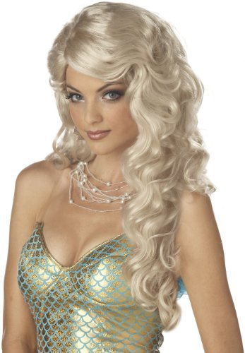 Women's Mermaid Blonde Wig