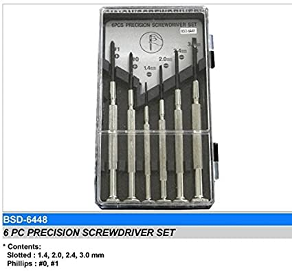 BDS-6448 Precision Screwdriver Set (6 Pc)