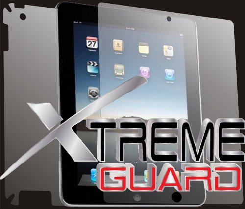 XtremeGUARD© Verizon Apple iPAD 2 FULL BODY Screen Protector Front+Back+Sides(Ultra CLEAR)