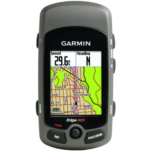 garmin 010 00555 00 edge 605 bicycle monitor with gps. Black Bedroom Furniture Sets. Home Design Ideas