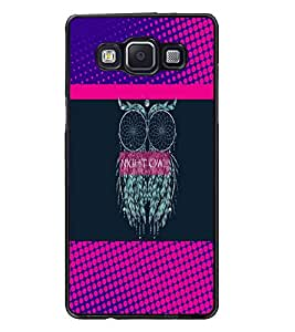 PrintDhaba Owl D-3532 Back Case Cover for SAMSUNG GALAXY A5 (Multi-Coloured)