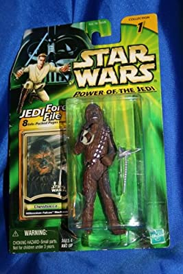 Star Wars Power Of The Jedi Millennium Falcon Mechanic Chewbacca Action Figure from Hasbro