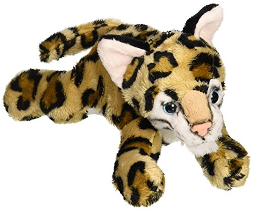 "Ocelot Stuffed Animal Plush Toy 9"" L"