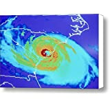Hurricane Hugo Canvas Print