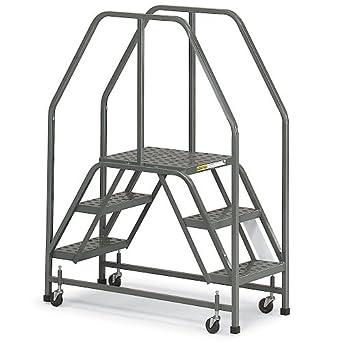 Ega Dual Entry Rolling Access Platform 30 Quot H 60 Degree