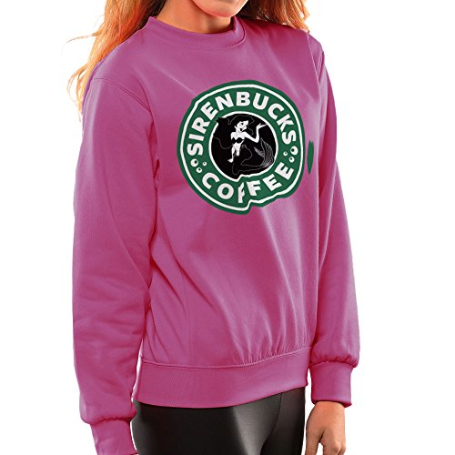 The Little Mermaid Ariel Starbucks Sirenbucks Coffee Women's Sweatshirt