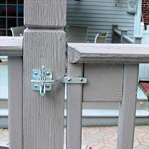 TekSupply 100367 Self-latching Gate Latch