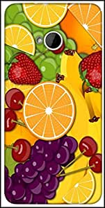 Snoogg Fruity 2428 Designer Protective Back Case Cover For HTC M7