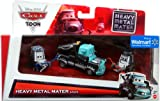 Disney / Pixar CARS Movie Exclusive 3-Piece 1:55 Scale Die Cast Set Heavy Metal Mater [Eddie, Heavy Metal Mater & Rocky]