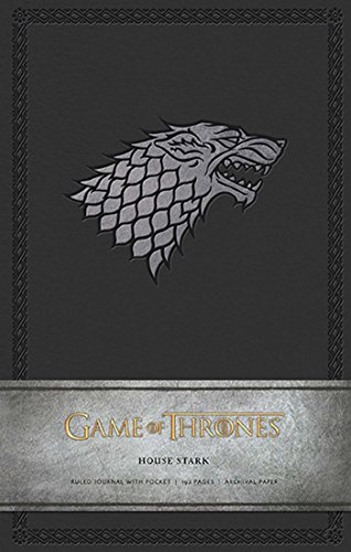Game of Thrones: House Stark Hardcover Ruled Journal (Insights Journals) (Stark House compare prices)