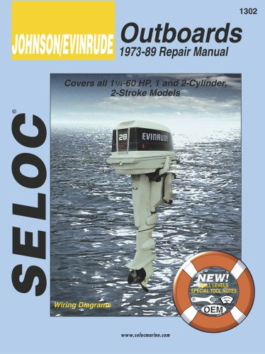 Johnson Evinrude Outboard 1971-1985 Vol 2 2hp to 60hp Tune-up and Repair Manual089330011X : image