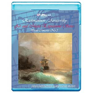 Rachmaninov/ Aivazovsky: Piano Concerto No.3 - Art and Music Expressions Series [7.1 DTS-HD Master Audio/Video Disc] [BD25] [Blu-ray]