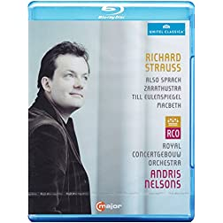 Strauss: Also Sprach Zarasthustra, Macbeth & Till Eulenspiegel [Blu-ray]
