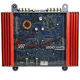 VR3 VRA2.0 Amp 200 Watt 2-Channel MOSFET 2 Ohm Car Audio Power Amplifier (Refurbished)