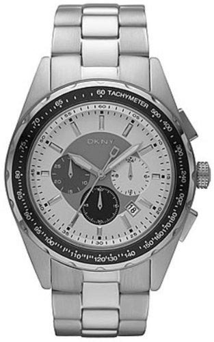 DKNY - NY1486 - Chronographe - Montre Homme - Bracelet en metal couleur argente