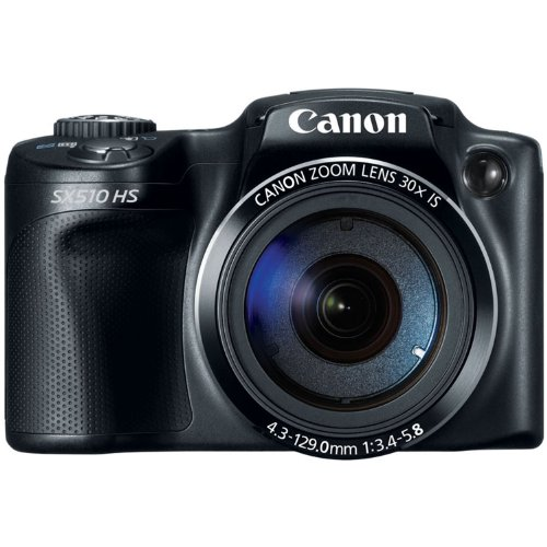 Canon PowerShot SX510 HS 12.1 MP CMOS Digital Camera (discontinued by manufacturer) (Canon Powershot Sx 510 compare prices)