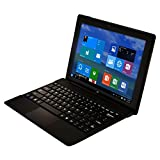 10-Inch Windows 10.1 Quad Core Tablet with Detachable and Reversible IPS Touch Screen and Keyboard, Bluetooth 4.0