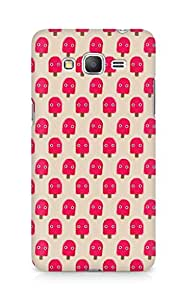 Amez designer printed 3d premium high quality back case cover for Samsung Galaxy Grand Prime (cute red popsicle)