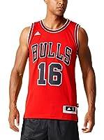 adidas Camiseta sin mangas Chicago Bulls Gasol (Rojo / Blanco)
