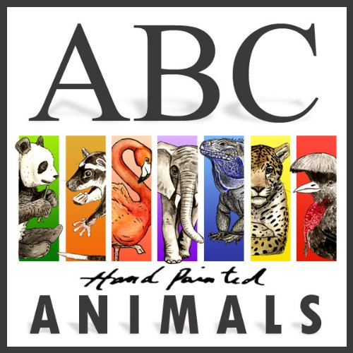 ABC Animals for Kids (Hand Painted Book 1) PDF