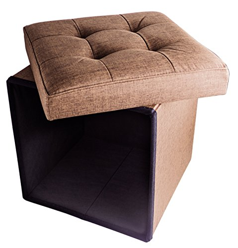 folding-cube-storage-ottoman-with-padded-seat-15-x-15-taupe