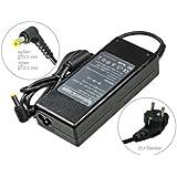 90W Notebook Netzteil AC Adapter Ladegerät für Asus X50V X50L X51 X51L X51R X51RL X5dad X5dij X5dab X53k X53ka X70ab X70ac X70ad X70ae X70ic. Mit Euro Stromkabel. Von e-port24®