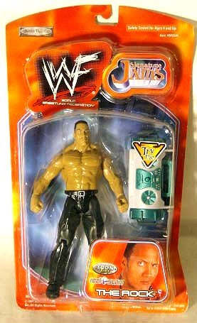 WWF Signature Jams The Rock - Tron ready