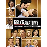 Grey's Anatomy: The Complete Fifth Seasonby Ellen Pompeo