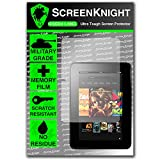 ScreenKnight® Amazon Kindle Fire HD 7.0 Front Invisible Shield Screen Protector