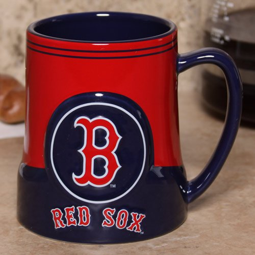 Boston Red Sox 18 Oz Game Time Coffee Mug